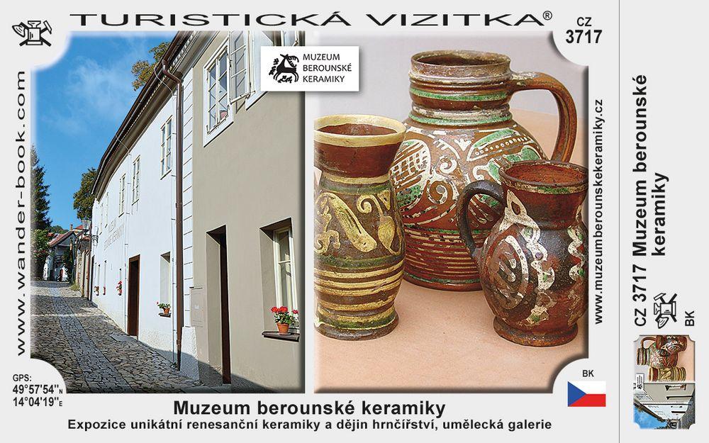 Muzeum berounské keramiky