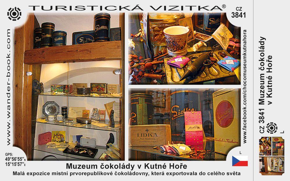 Muzeum čokolády v Kutné Hoře