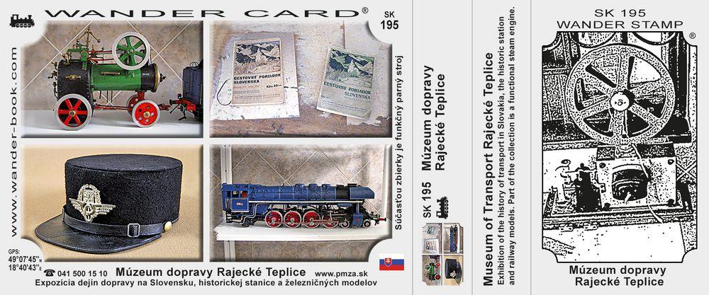 Múzeum dopravy Rajecké Teplice