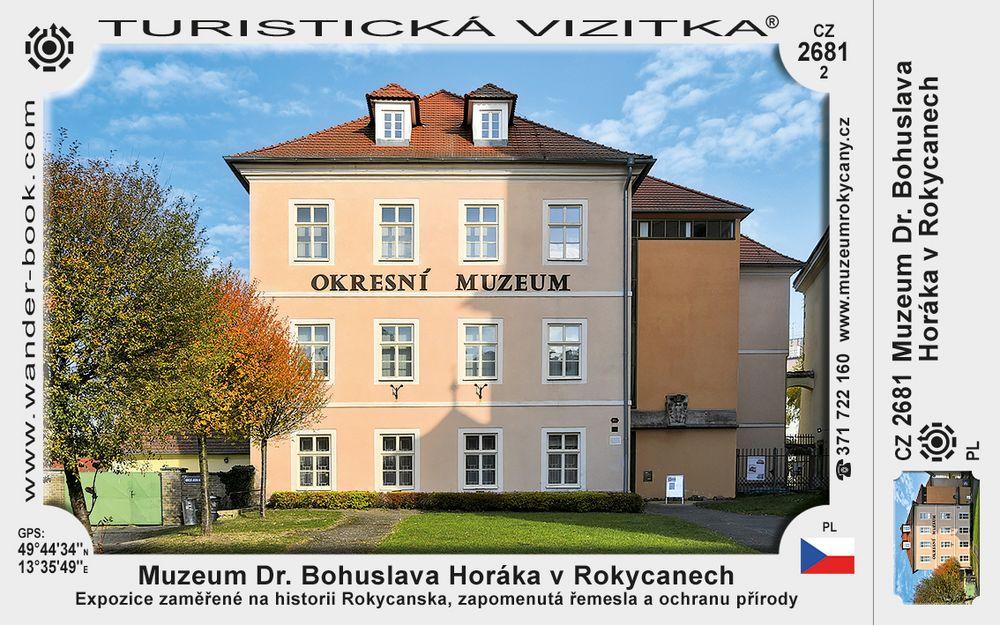 Muzeum Dr. Bohuslava Horáka v Rokycanech