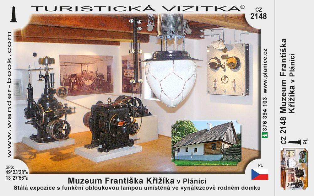 Muzeum Františka Křižíka v Plánici