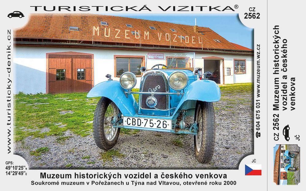Muzeum historic. vozidel a čes. venkova