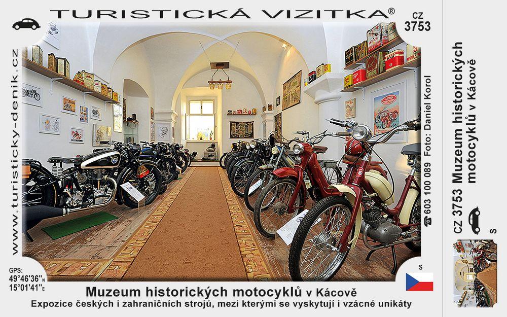Muzeum historických motocyklů v Kácově