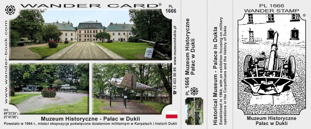 Muzeum Historyczne - Pałac w Dukli