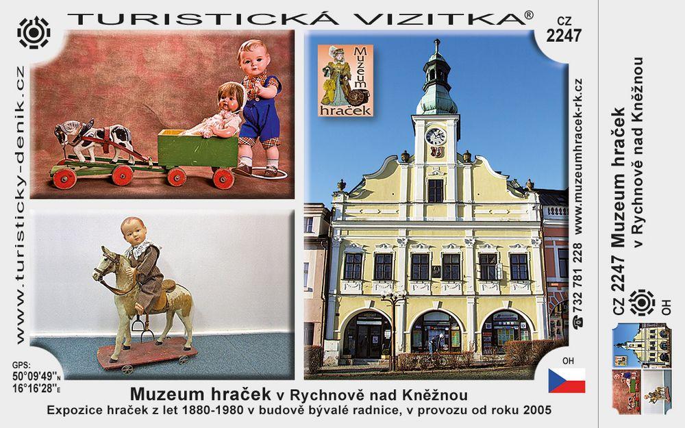 Muzeum hraček v Rychnově n. Kněžnou