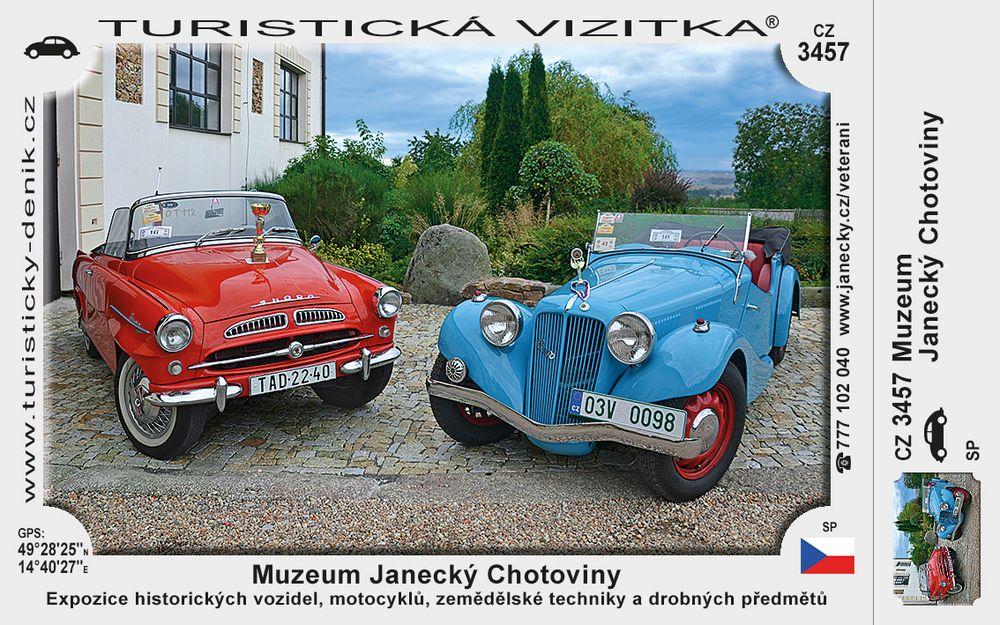 Muzeum Janecký Chotoviny