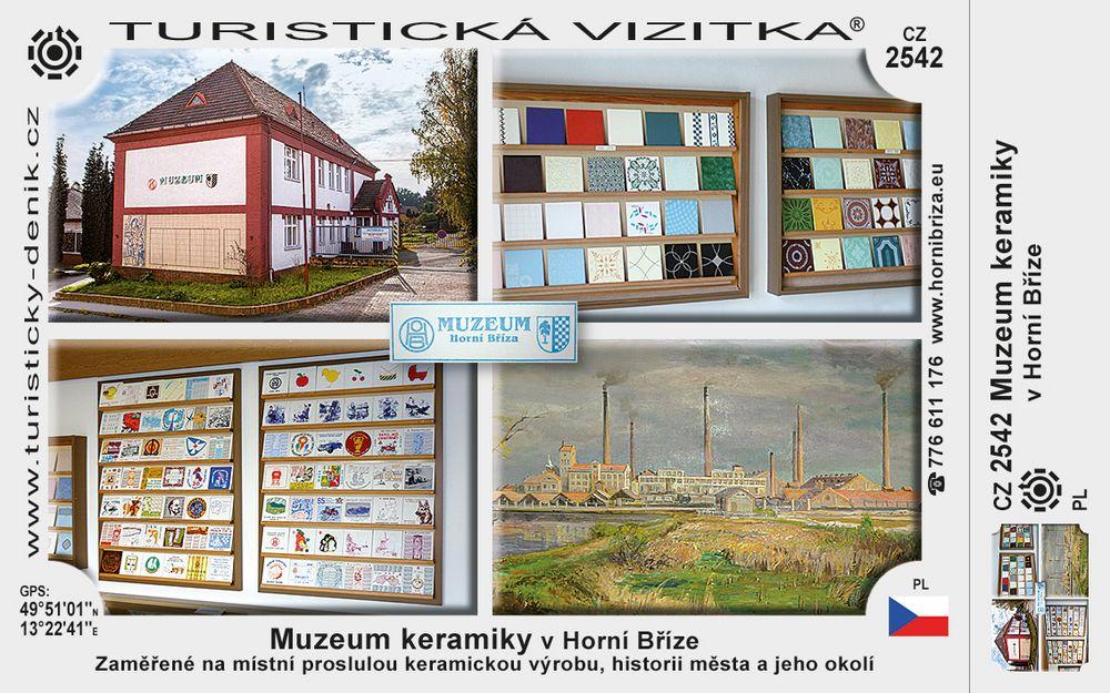 Muzeum keramiky v Horní Bříze