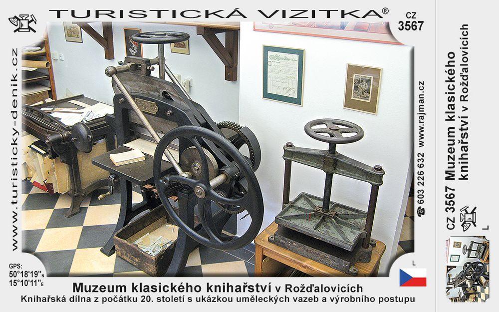 Muzeum klasického knihařství v Rožďalovicích