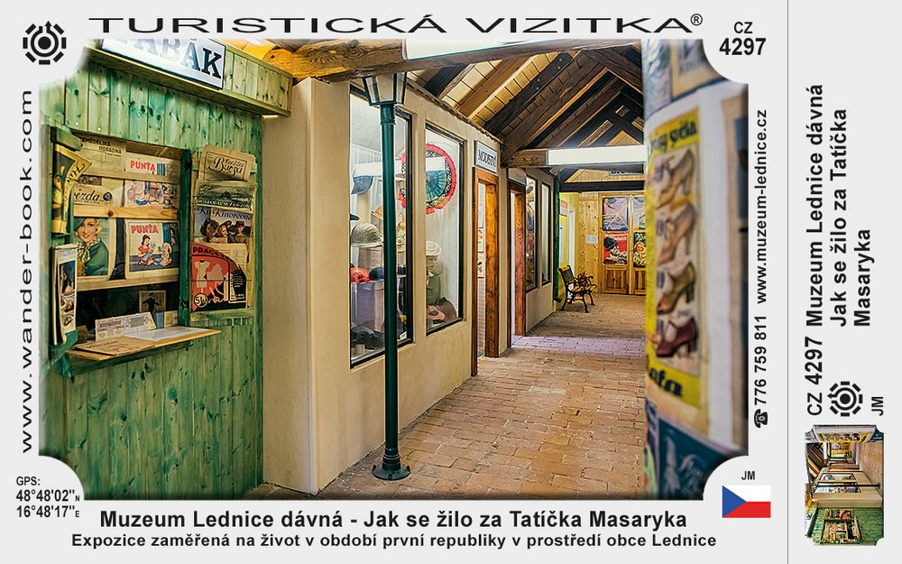 Muzeum Lednice dávná - Jak se žilo za Tatíčka Masaryka