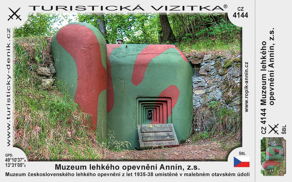 Muzeum lehkého opevnění Annín, z.s.