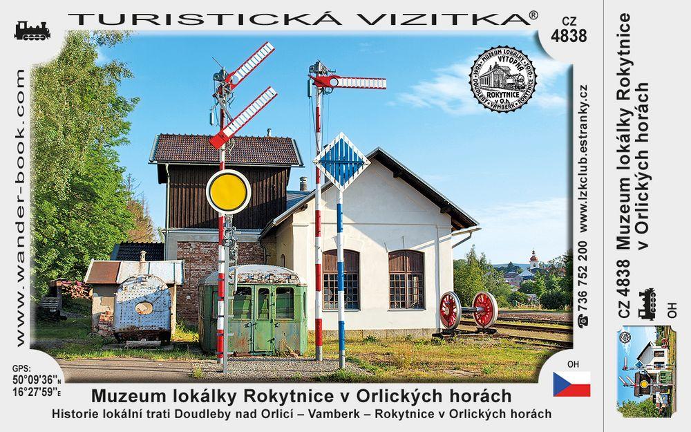 Muzeum lokálky Rokytnice v Orlických horách