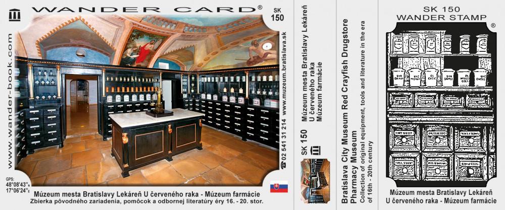 Múzeum mesta Bratislavy Lekáreň U červeného raka – Múzeum farmácie