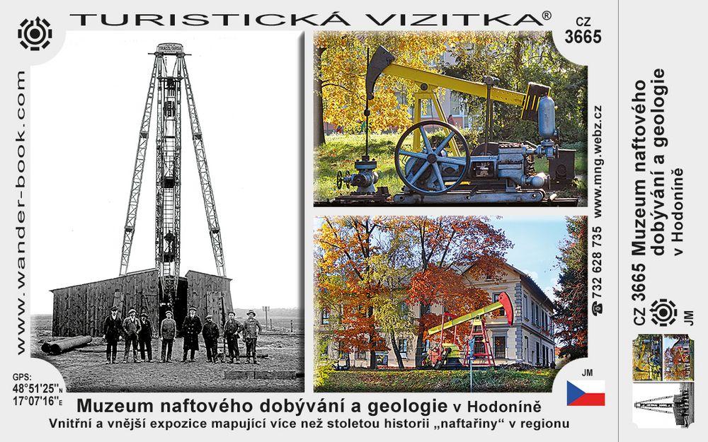 Muzeum naftového dobývání a geologie v Hodoníně