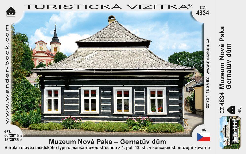 Muzeum Nová Paka – Gernatův dům