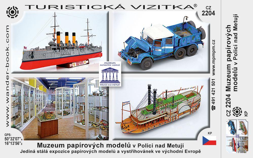 Muzeum pap. modelů v Polici nad Metují