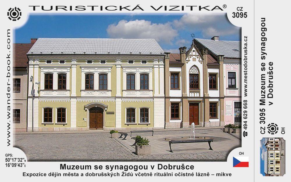 Muzeum se synagogou v Dobrušce
