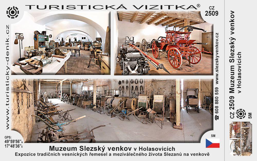 Muzeum Slezský venkov v Holasovicích
