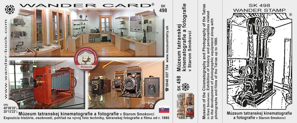 Múzeum tatranskej kinematografie a fotografie v Starom Smokovci