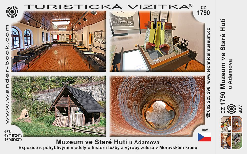 Muzeum ve Staré Huti u Adamova