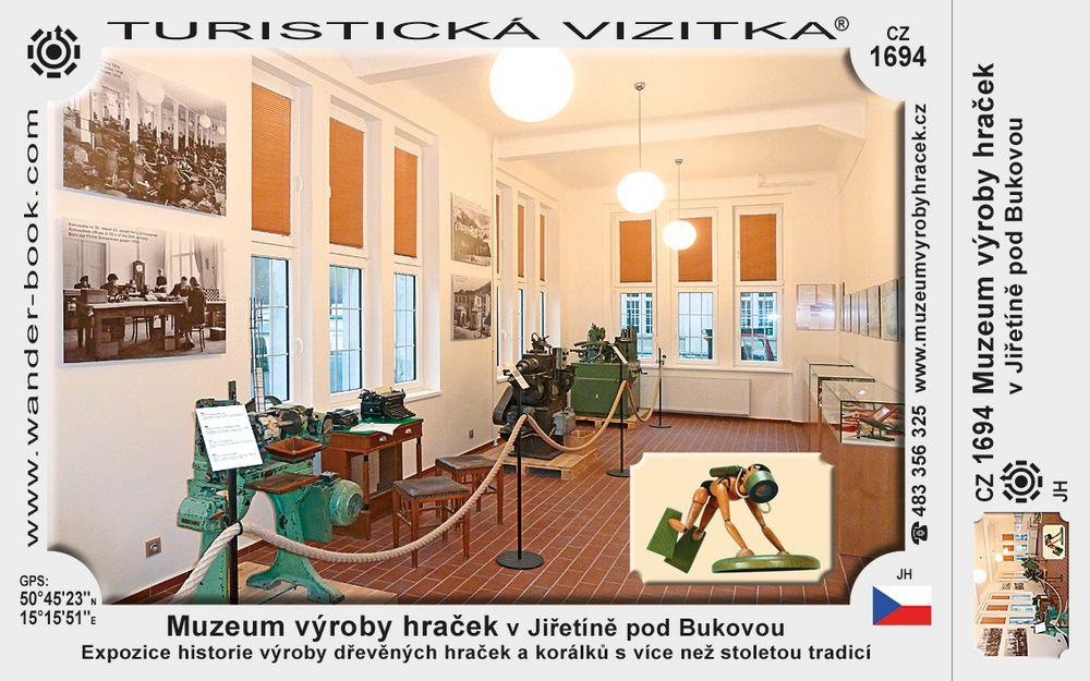 Muzeum výroby hraček v Jiřetíně p/B