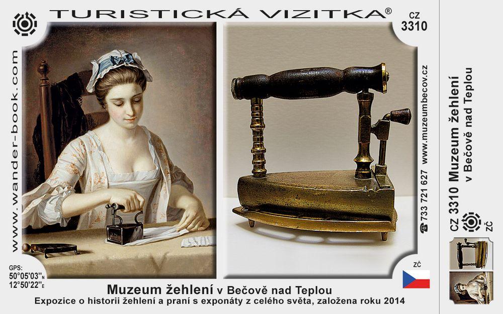 Muzeum žehlení v Bečově nad Teplou