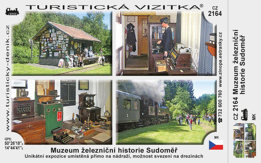 Muzeum železniční historie Sudoměř