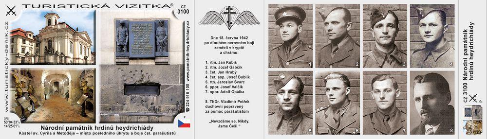 Národní pam. hrdinů heydrichiády