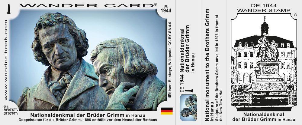 Nationaldenkmal der Brüder Grimm in Hanau