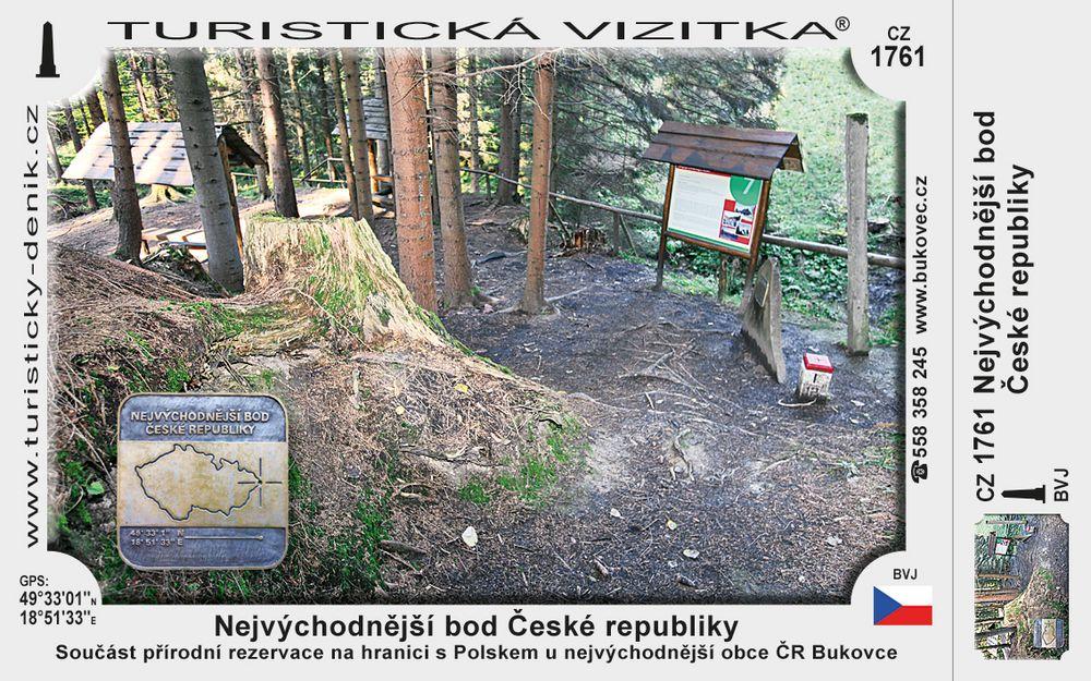 Nejvýchodnější bod České republiky
