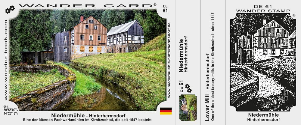 Niedermühle - Hinterhermsdorf