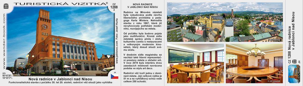 Nová radnice v Jablonci nad Nisou