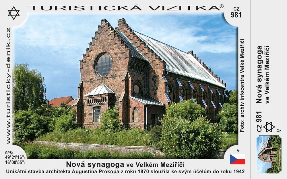 Nová synagoga ve Velkém Meziříčí