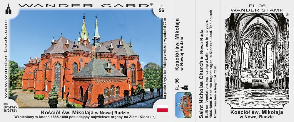 Nowa Ruda kościół św Mikołaja