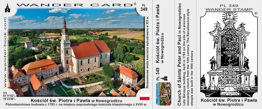 Nowogrodziec kościół św Piotra i Pawła