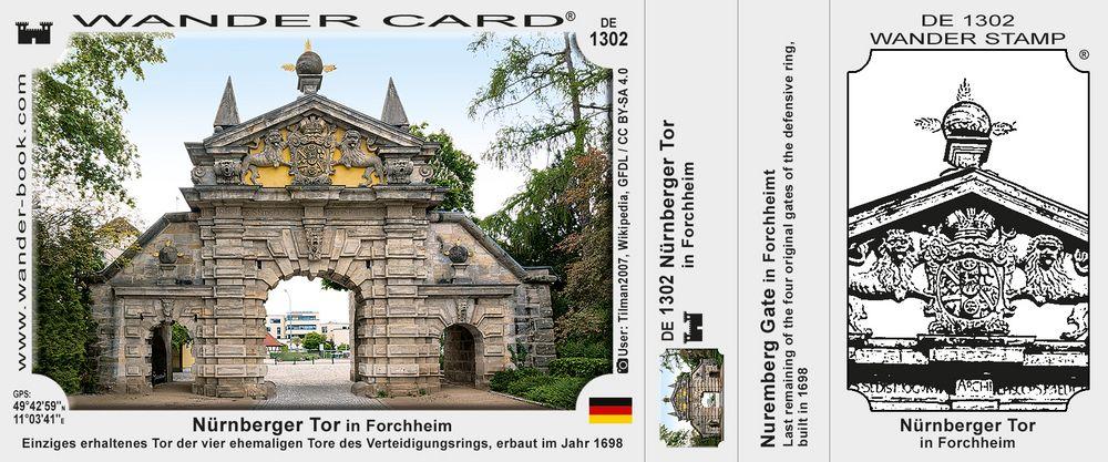 Nürnberger Tor in Forchheim