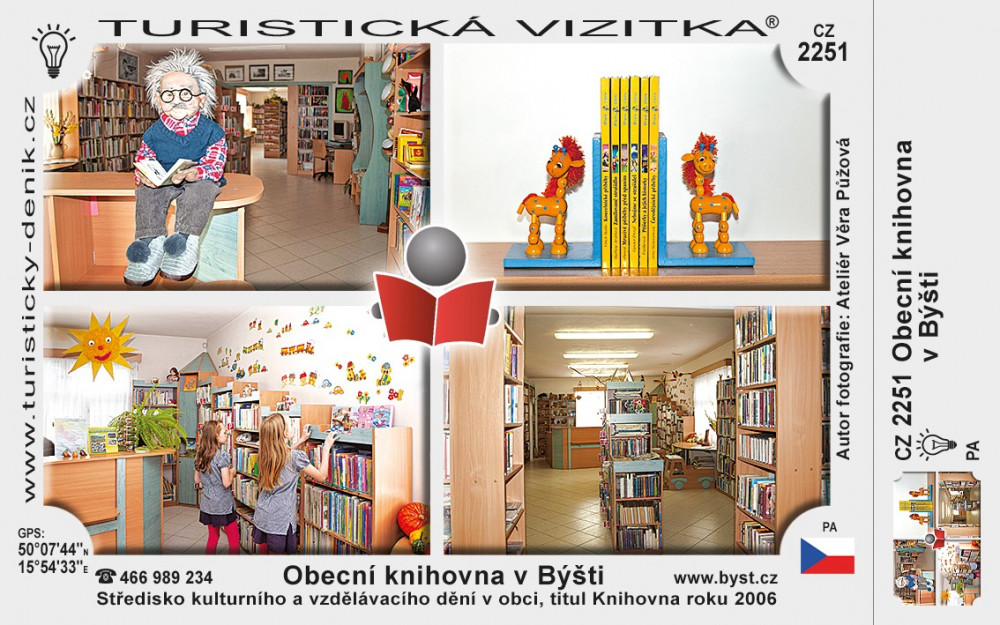 Obecní knihovna v Býšti