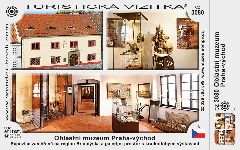 Oblastní muzeum Praha - východ