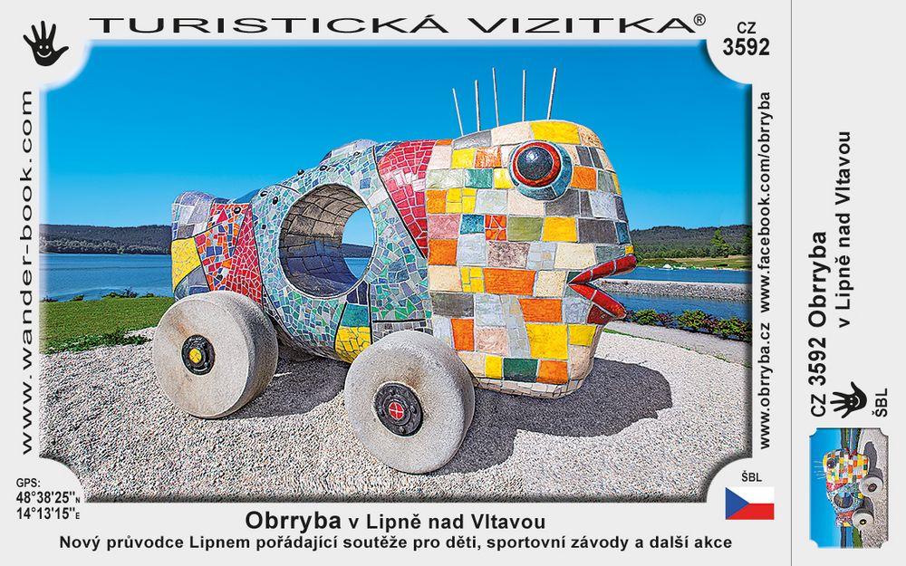 Obrryba v Lipně nad Vltavou