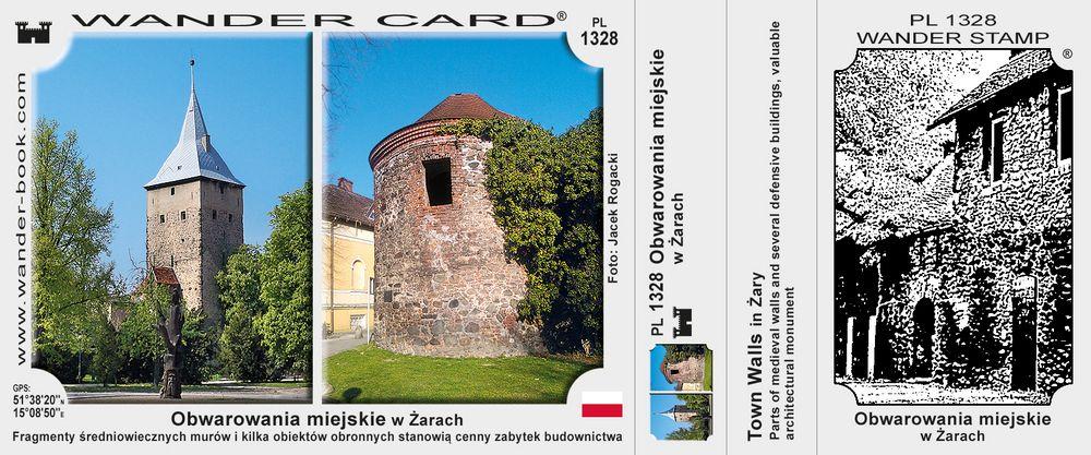 Obwarowania miejskie w Żarach