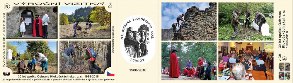 Ochrana Klokočských skal 30 let
