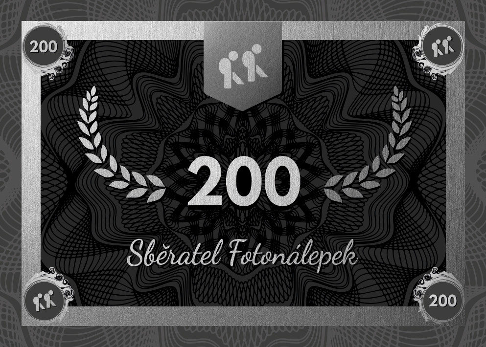 Sběratel Fotonálepek 200