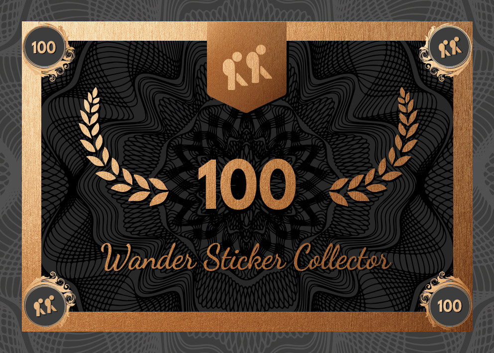Collector – Wander Sticker 100