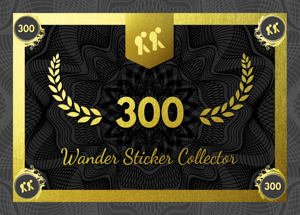 Collector – Wander Sticker 300