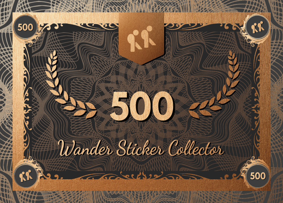 Collector – Wander Sticker 500