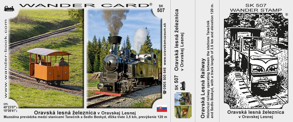 Oravská lesná železnica v Oravskej Lesnej