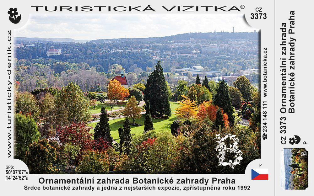 Botanická zahrada Praha – Ornamentální zahrada