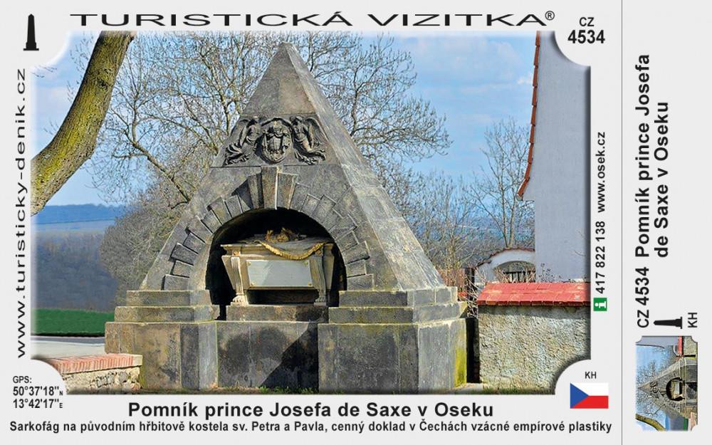 Osek pomník Saxe