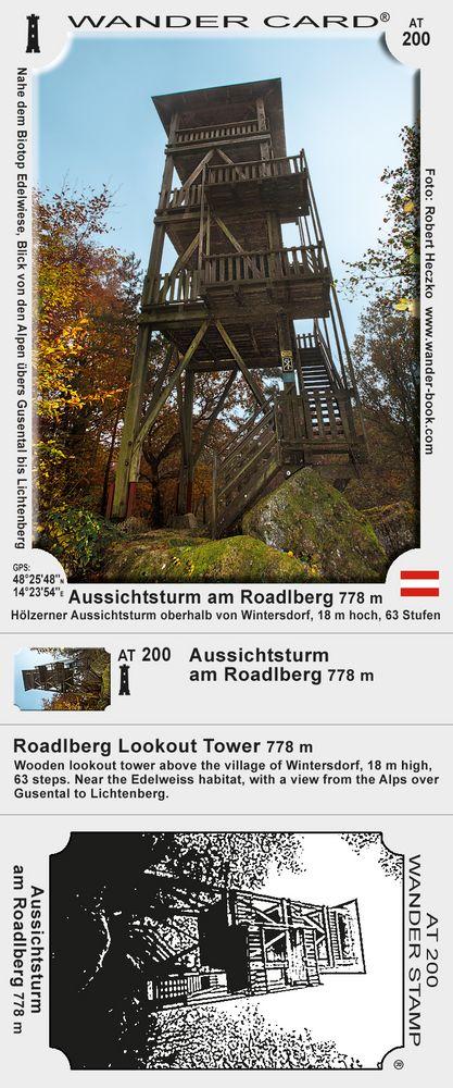 Aussichtsturm am Roadlberg