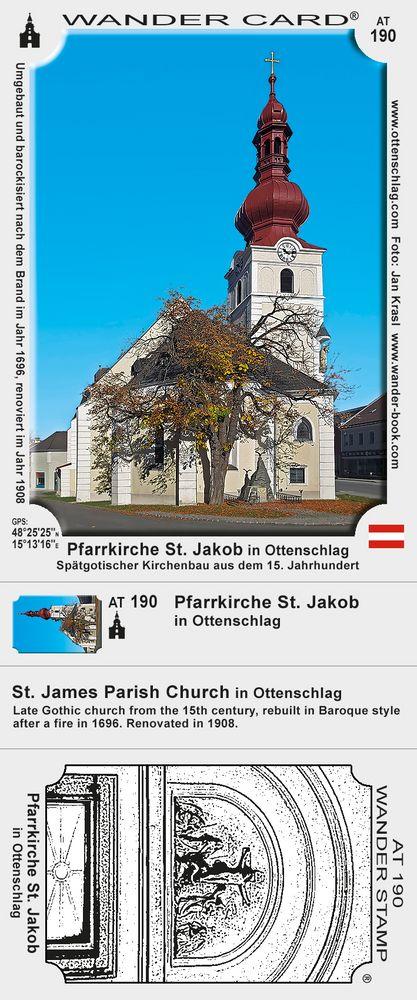 Pfarrkirche St. Jakob in Ottenschlag