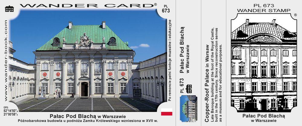 Pałac Pod Blachą w Warszawie